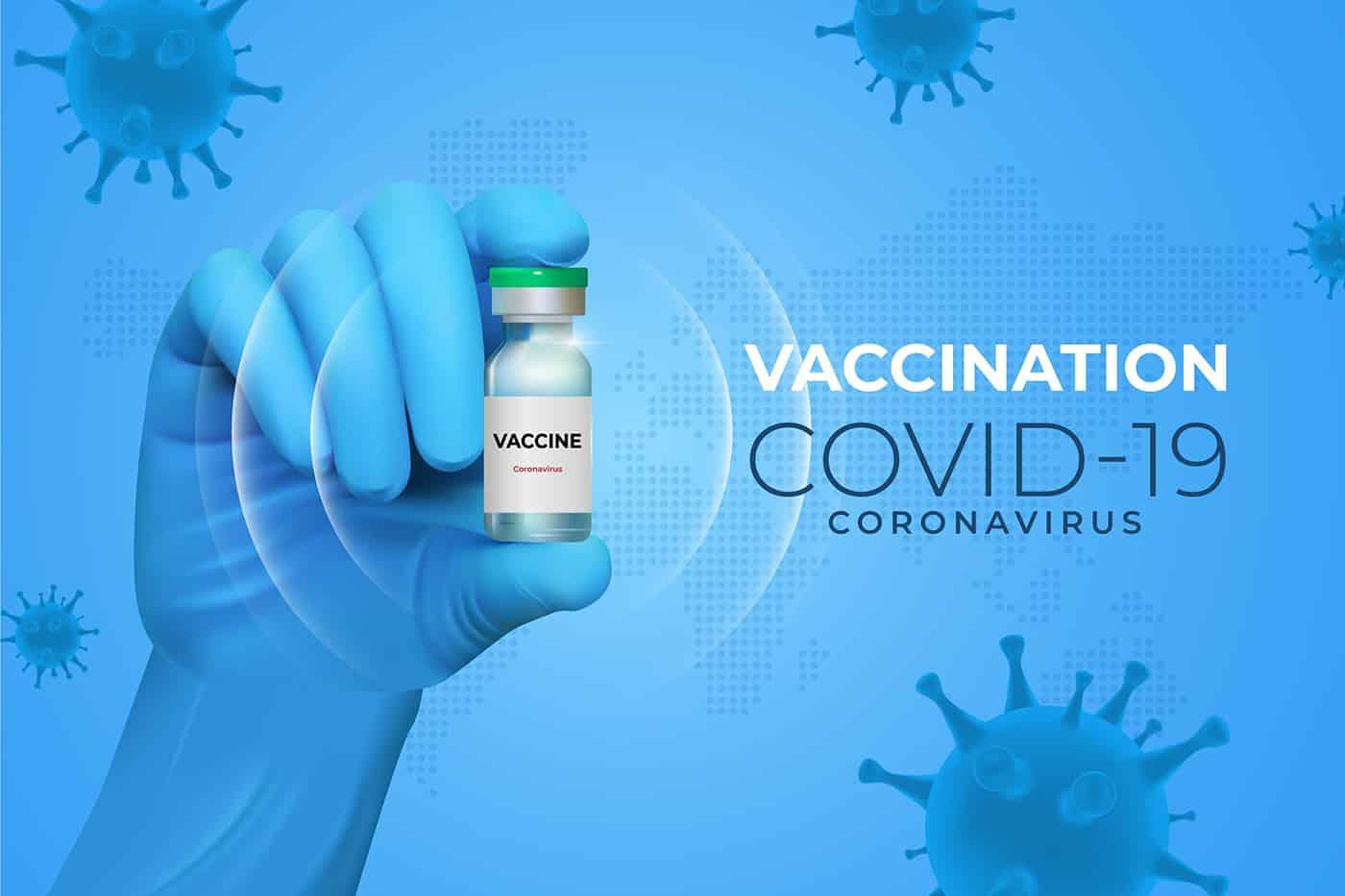 Corona-Impfstoff -medizinischem Business Englisch - Impfstoff